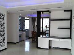 阳光国际现代风格三居室
