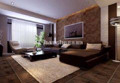 紫云华庭现代风格三居室
