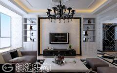 新华国际广场129平简欧风格欧式风格大户型