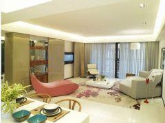 万科水晶城-三居室-175平米-装修设计现代风格小户型