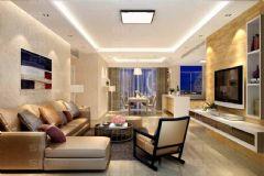 保利星座-四居室-装饰设计现代风格小户型