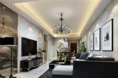 光谷新世界二居室现代风格二居室