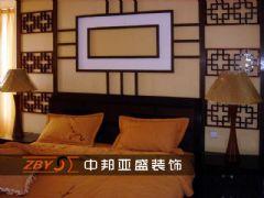 书香门第中式风格三居室