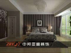 蓝蝶苑现代风格三居室
