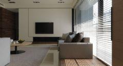 菩提苑现代风格三居室