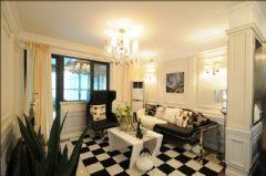 纯现代美宅成都尚层装饰现代风格三居室