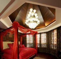 时尚中式城南美宅成都尚层装饰作品中式风格别墅