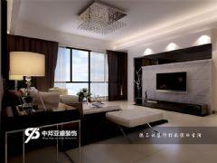 中环城2现代风格三居室