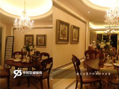 九龙湾3欧式风格三居室