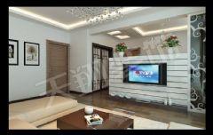 世纪城龙凯苑现代风格三居室