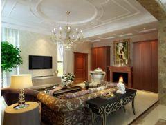 龙腾熙园-三居室-120平米-装修设计现代风格三居室