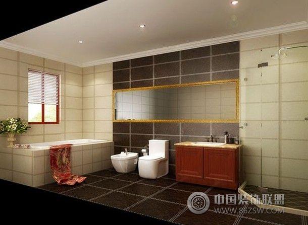 龙腾熙园-三居室-120平米-装修设计-卫生间装修效果
