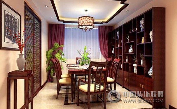 米-装修设计中式餐厅