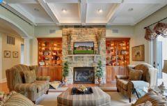 香域水岸-别墅-192平米-装修设计混搭风格六居室