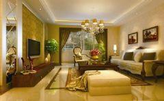 龙华小区-三居室-126平米-装修设计混搭风格三居室