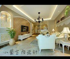 香山美境欧式风格三居室