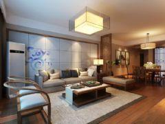 香博堡中式风格三居室