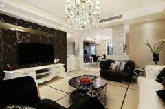 德信家園紅木林-二居室-77平米-裝修設計混搭風格小戶型