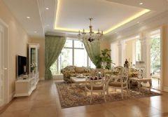 香域水岸-别墅-400平米-装修设计混搭风格大户型