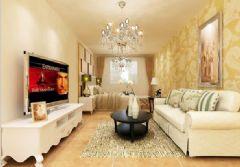 龙腾熙园 一居室-60平米-装修设计现代风格小户型