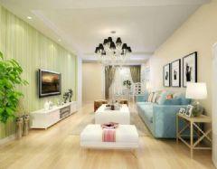 水岸名都 -三居室-140平米-装修设计现代风格三居室