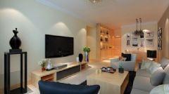 中泰花园 一居室-76平米-装修设计简约风格小户型
