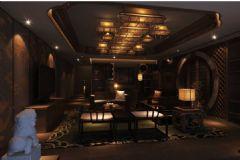 水岸名都 五-居室-313平米-装修设计中式风格复式