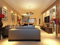 柏嘉半岛-二居室-98平米-装修设计现代风格小户型