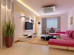 龙腾熙园-二居室-96平米-装修设计现代风格小户型