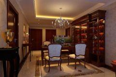 帝豪花园 -四居室-120平米-装修设计混搭风格四居室