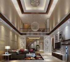 柏嘉半岛 -230平米-装修设计欧式风格大户型
