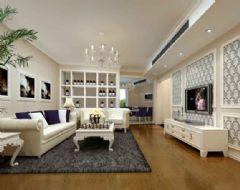 星海湖-三居室-110平米-装修设计欧式风格三居室