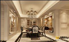 别墅豪宅餐厅设计案例欧式风格别墅