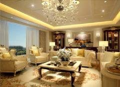 国瑞雅仕园 -四居室-260平米-装修设计欧式风格四居室