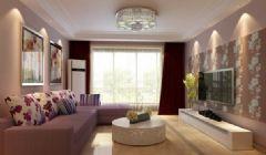 嘉悦华园 二居室-85.72平米-装修设计现代风格小户型