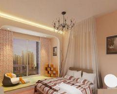 玉泉花园-二居室-96平米-装修设计现代风格小户型