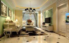 万春花园2期-三居室-126平米-装修设计混搭风格小户型