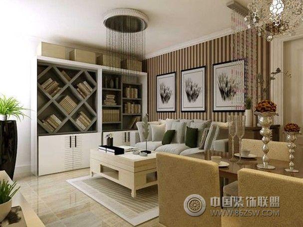 山伟学府花园一居室-41平米-装修设计现代书房装修图片
