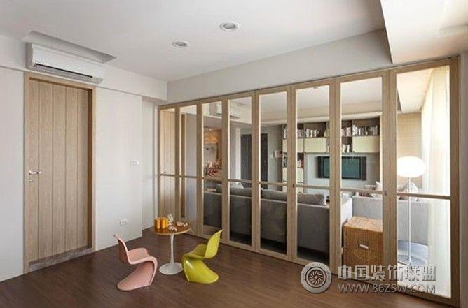 柏庄观邸-三居室-125平米-装修设计-玄关装修图片
