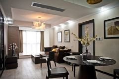 佳美花园-二居室-85平米-装修设计现代风格小户型