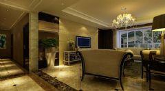 佳美花园二居室-85平米-装修设计欧式风格小户型