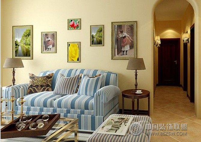 蟠龙山庄-二居室-80平米-装修设计-卧室装修效果图