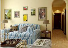 蟠龙山庄-二居室-80平米-装修设计田园风格小户型