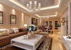 锦绣家园-三居室-140平米-装修设计现代风格三居室