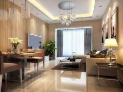 望江苑-三居室-89平米-装修设计现代风格小户型