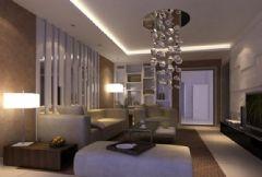 望江苑-三居室-120平米-装修设计现代风格小户型