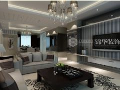 锦苑世家现代风格三居室