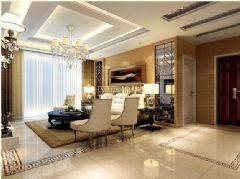 御龙湾——新古典古典风格四居室