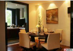 扬州新中式风格装修设计案例中式风格四居室