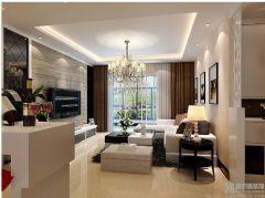 万豪西花苑三室二厅现代简约风格户型解析现代简约风格小户型